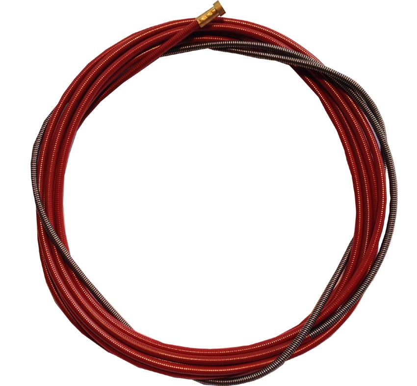 Schweiss Discount - Führungsspirale rot für Draht 1,0 - 1,2mm
